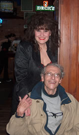 Maia and Northwest jazz legend, Norm Bobrow